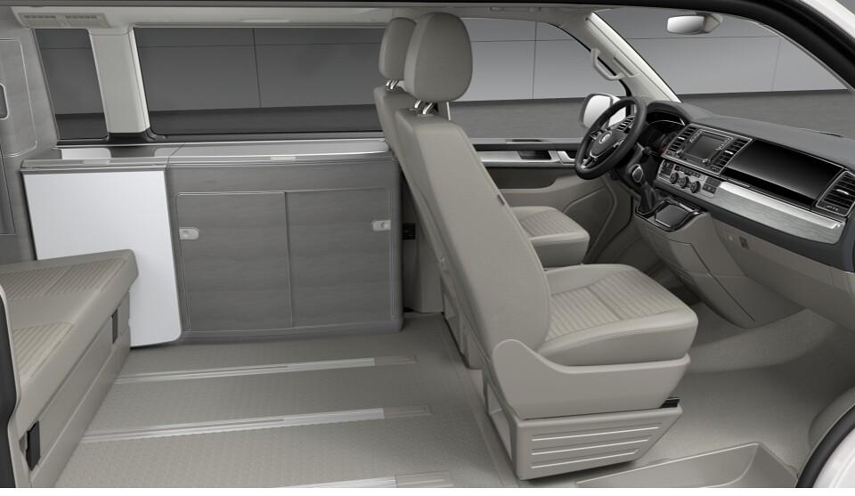 Volkswagen California Ocean VW T6 2,0 TDI 150BHP DSG-mycalifornia